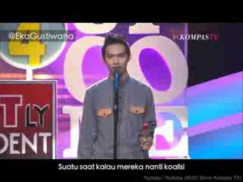 Dodit  Standup Comedy Nyanyi Lagu  Metallica Lucu video