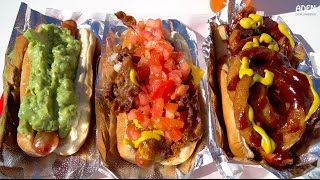 Street Food in Hollywood, California - 4 iconic Fast Food dishes in America