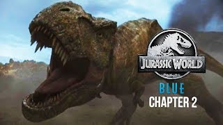 REXY FIGHTS A BARYONYX! | Jurassic World: Blue Virtual Reality (Chapter 2)