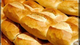 Como Fazer Pão Caseiro  Francês (Receita Culinaria-em-Casa