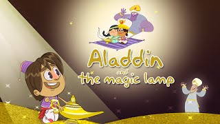 Aladdin And The Magic Lamp Full Story | Arabic Folktale | Bedtime Stories For Kids | Bulbul Apps