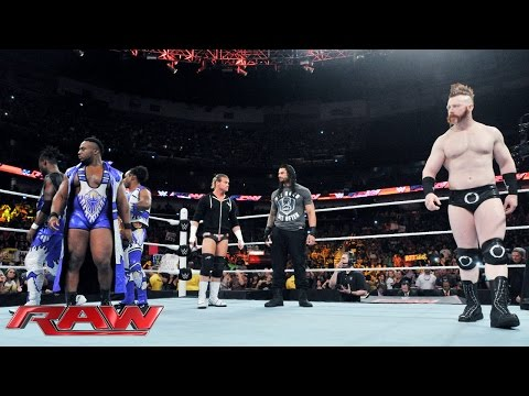 Tensions flare before the Money in the Bank Contract Ladder Match: Raw, June 8, 2015