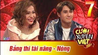 THVL | Cười xuyên Việt 2017 - Tập 7: Nóng