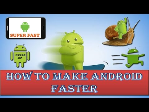 10 Tips to make your android device run faster?