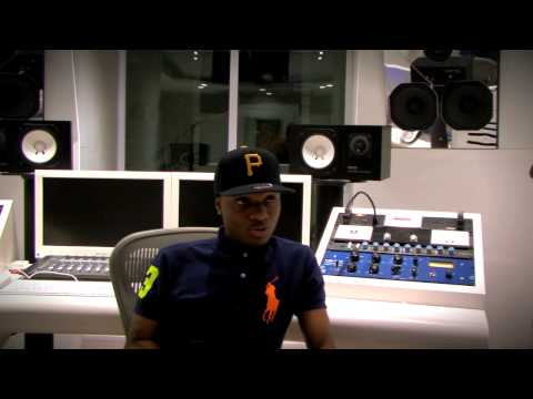 WizKid - DJ Fully Focus Interviews Wizkid @ Konvict Studios ATL