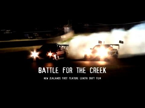 New Zealand Drift Film - Battle For The Creek - Tectaloy International Drift Challenge 2011