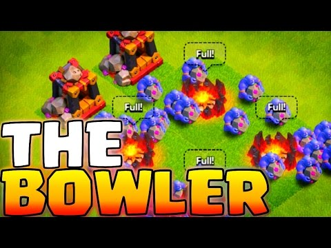 The BOWLER! Clash of Clans New Dark Troop Revealed!