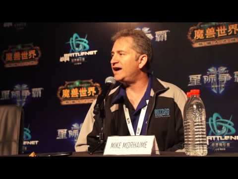 Mike Morhaime talks about the BWC, HoTs, 2013 Blizzcon, and more