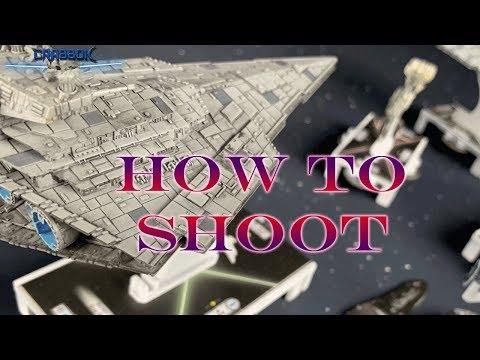Armada - Shooting Workshop- Range, Arc, and Line of Sight