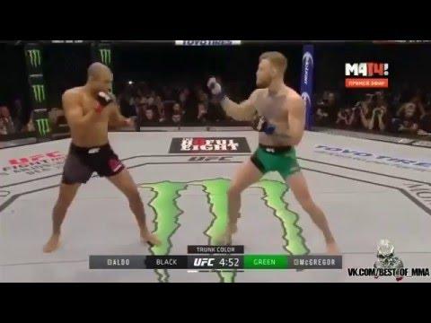 Конор МакГрегор против Жозе Альдо. UFC 194: Conor McGregor and Jose Aldo Octagon Interview