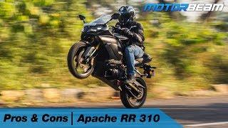 TVS Apache RR 310 - Pros & Cons   MotorBeam