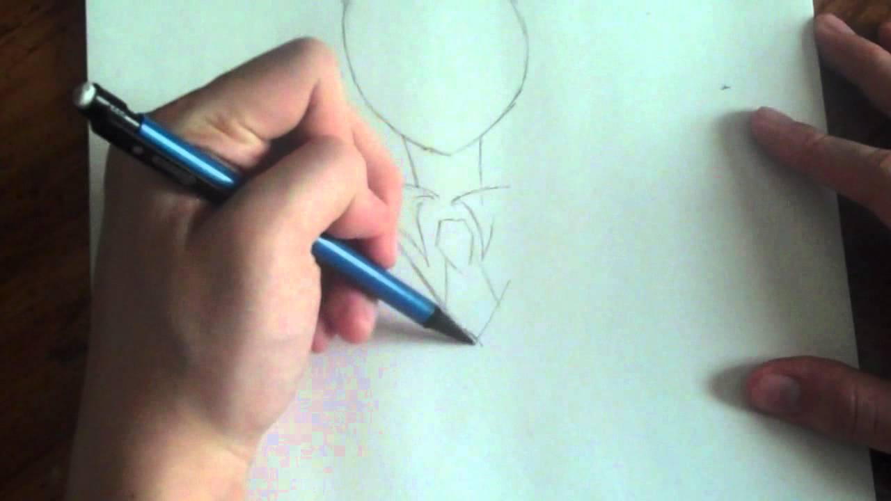 Slender Man Easy Drawing Drawing