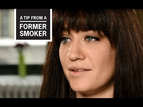 cdc tips from former smokers   amanda s story   youtube