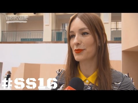 Designer Interview with Roksanda Ilincic - Spring/Summer 2016 - London Fashion Week