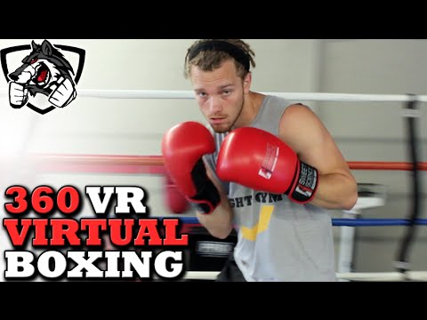 360 VR Boxing Sparring with Shane Fazen