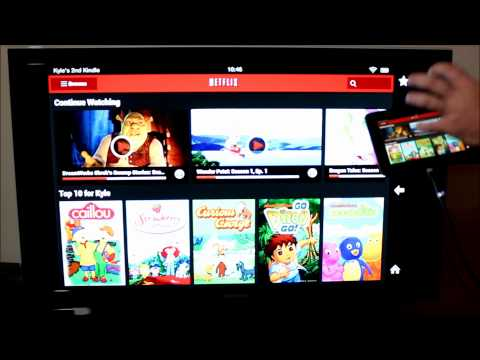 HDMI Output from the Amazon Kindle Fire HD 7