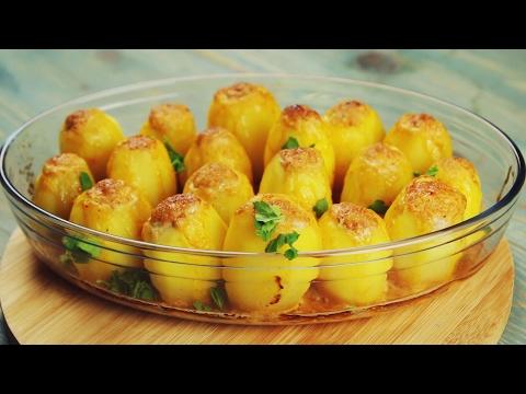 Картофель, фаршированный мясом - Рецепты от Со Вкусом
