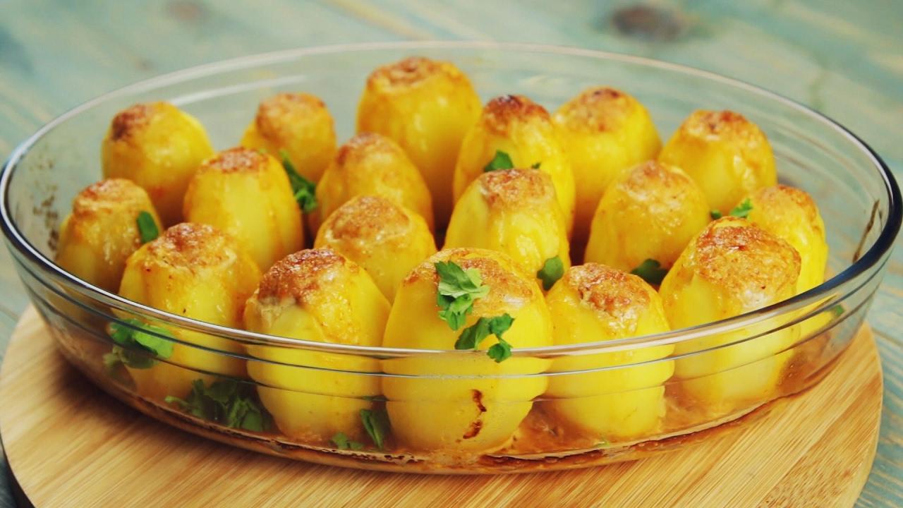 Рецепт приготовления картофеля фаршированного