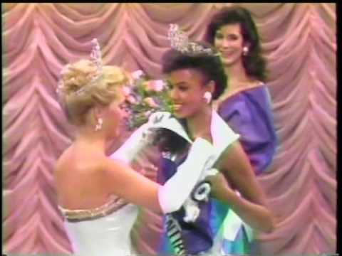 miss canada 1989 final walk crowning moment youtube