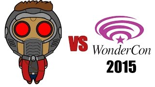 Star-Lord Dances With WonderCon 2015