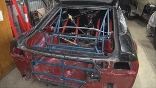 180sx Drift Car Rear Radiator Build Part 5