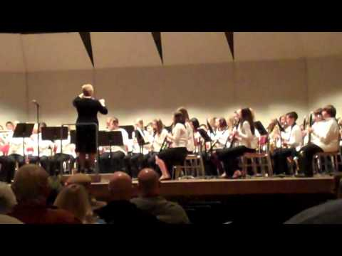 WOODLAND MIDDLE SCHOOL  7TH GRADE FALL BAND CONCERT - DULUTH, MN