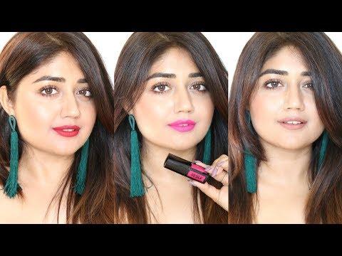 Nykaa Liquid Lipstick SWATCHES | corallista