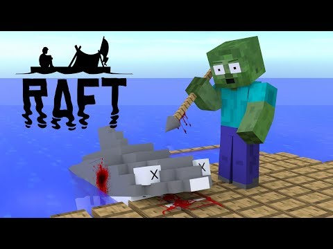 Monster School : Raft Survival Game Challenge - Minecraft Animation
