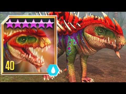 GORGOSUCHUS LVL 40 - New LEGENDARY HYBRID - Jurassic World The Game