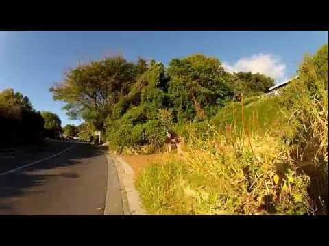 Mike Zietsman skating down Llandudno Road on Sky Hooks