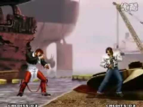 King of Fighters 95-2001 Iori Yagami Combos