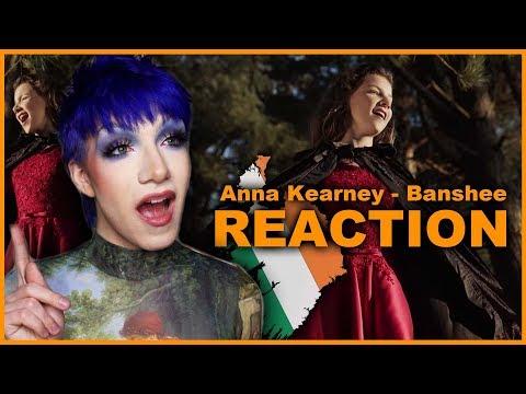 IRELAND - Anna Kearney - Banshee | Junior Eurovision 2019 REACTION