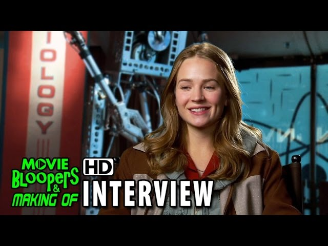 Tomorrowland (2015) Behind the Scenes Movie Interview - Britt Robertson (Casey Newton)