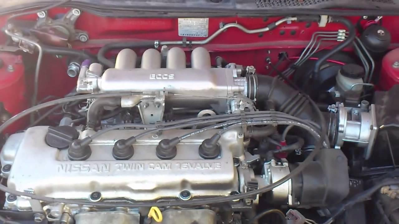 Nissan Twin Cam 16 Valve Youtube