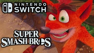 Super Smash Bros. Ultimate: 7 Possible NEW Characters First and Third Party!