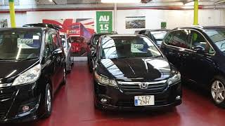 Jap car finder LTD Indoor Showroom over 100 family cars in stock.