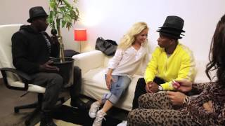 Parodie Enora interview Pharrell Williams Val Kahl Fabrice Sopoglian