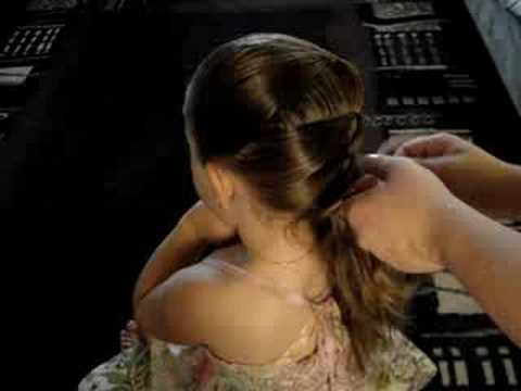 Goddess Locks Hair Tutorial for Little Girls