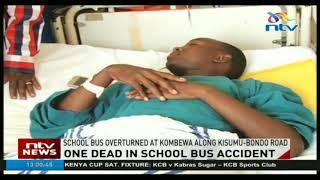Rapogi secondary school student dies in accident after school bus overturns
