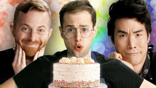 The Try Guys Bake Cakes Without A Recipe