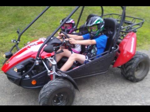 Hammerhead GTS 150 Budget ATV Fun