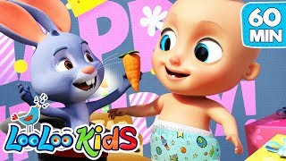 Happy Birthday 🎉 Birthday Song for Children   LooLoo Kids