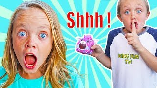 Kaden Plays Jokes on Jazzy's Girls Only Party with Pikmi Pops! Kids Fun TV