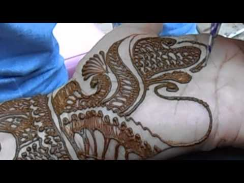 Arabic Hena Mehandi Design For Beautiful Hand video