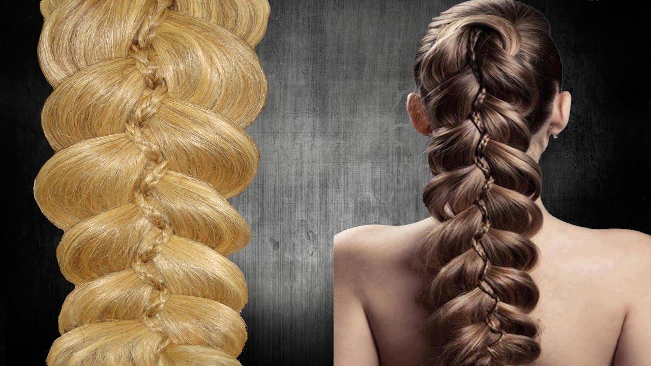 5 strand slide up braid trenza 5 de moda 5 - Peinados d moda ...