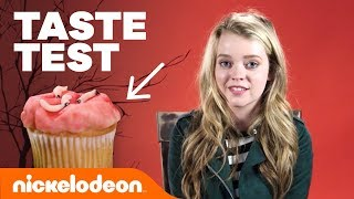 🐛 Jade Pettyjohn, Ricardo Hurtado & More Try 'Haunted Halloween Taste Test' 🎃  | Nick