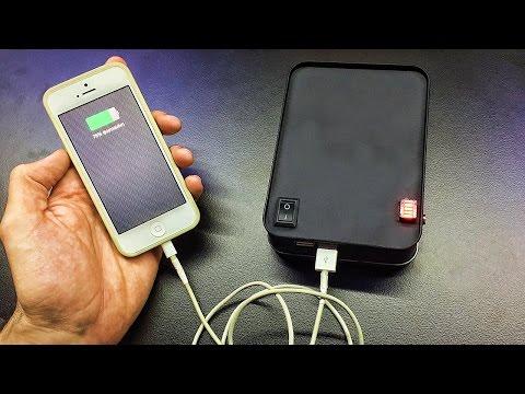 Как сделать Крутой USB Повербанк своими руками | Power Bank