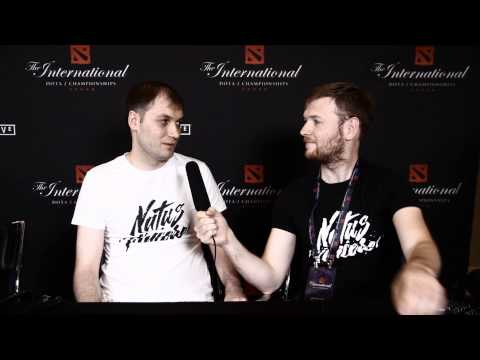 Goblak interview @ The International 2014 (WITHOUT Eng subs)