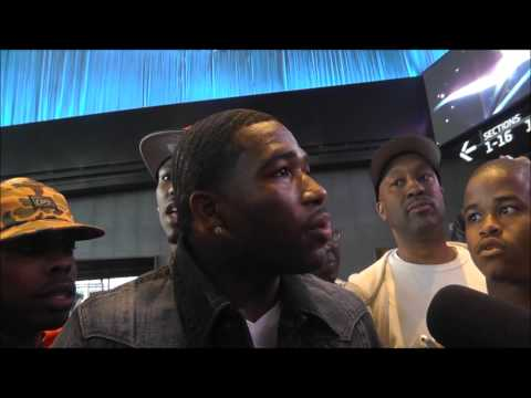 Broner, Malignaggi trade words at Garcia-Judah weigh-in