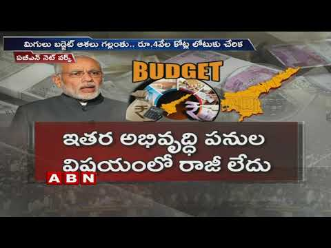 AP Budget crosses 2 lakh crores, Centre not Releasing funds to AP | ABN Telugu